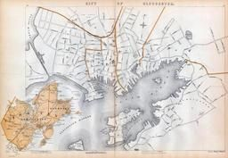 Gloucester, Cape Ann, Rockport, Massachusetts State Atlas 1900